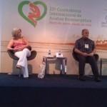 Eulina em apresentações e discussões de temas